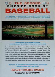 The Second Fireside Book of Baseball