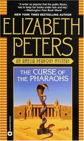 Image result for the curse of the pharaohs by elizabeth peters