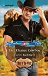 Last Chance Cowboy (Mustang Valley #1)
