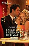 Executive's Pregnancy Ultimatum (Kings of the Boardroom, #2)