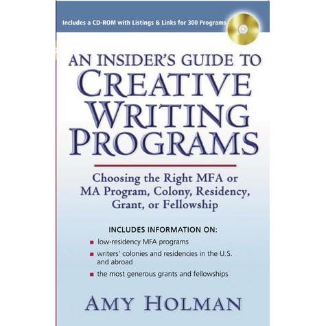 low residency mfa programs creative writing