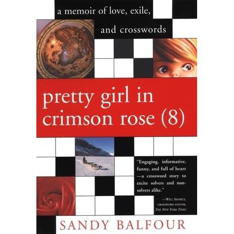 Pretty Girl in Crimson Rose (8) by Sandy Balfour