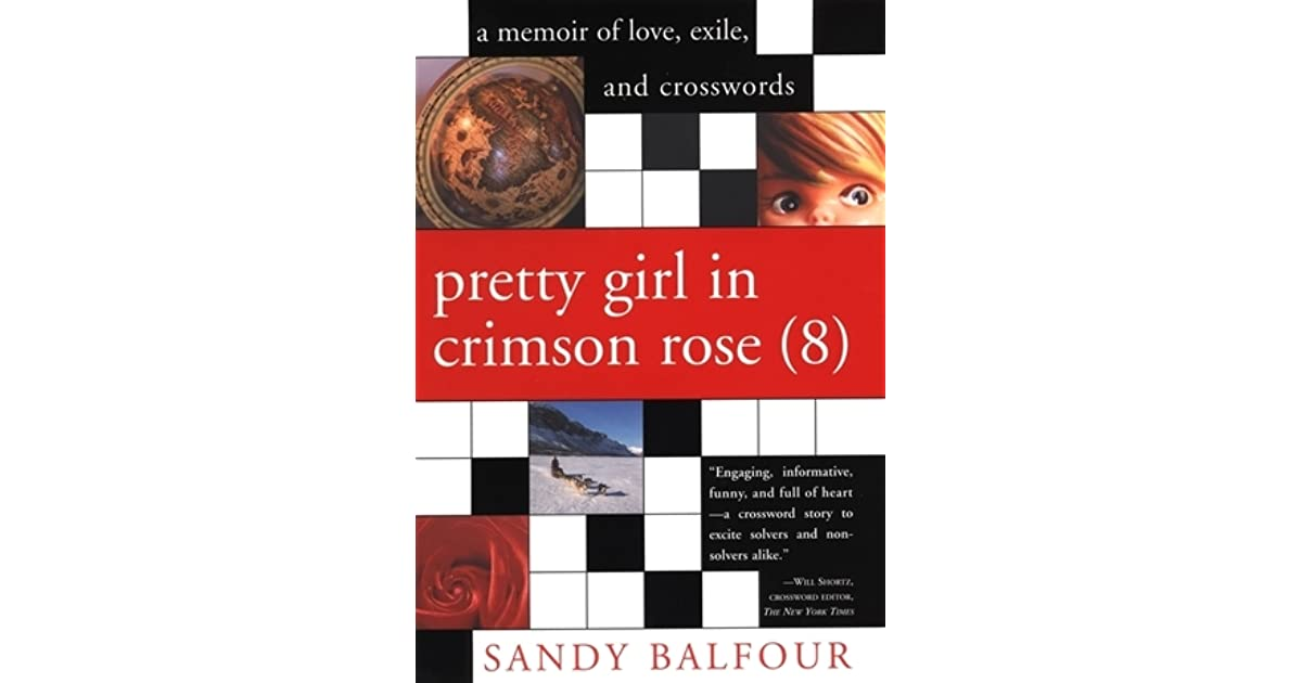 Pretty Girl in Crimson Rose (8) by Sandy Balfour