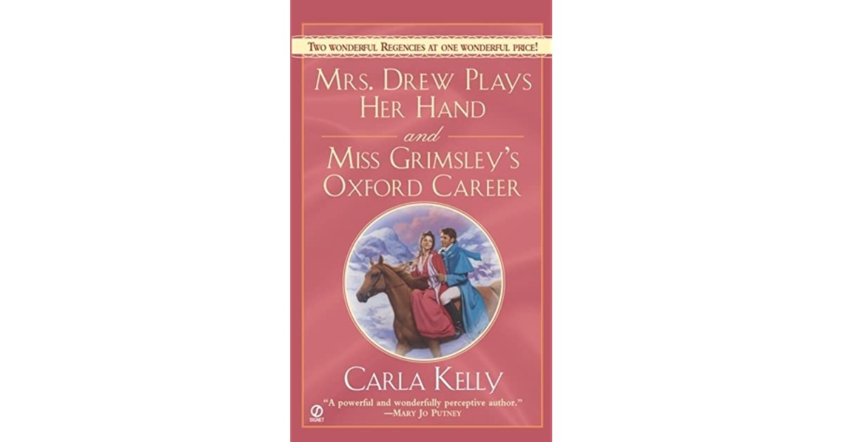 Mrs  Drew Plays Her Hand And Miss Grimsley's Oxford Career