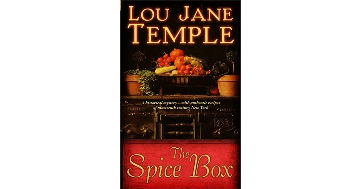 The Spice Box The Spice Box 1 By Lou Jane Temple