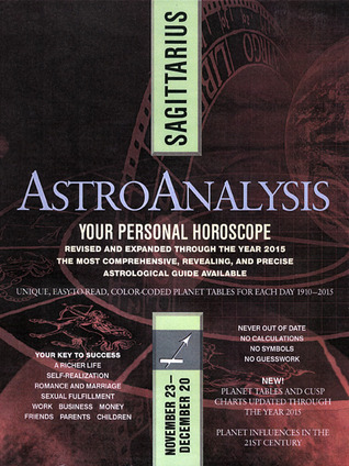 AstroAnalysis: Sagittarius by American Astro Analysts Institute