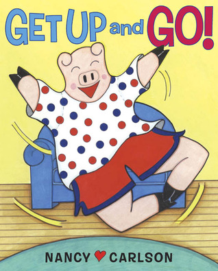 Get Up and Go! cover art with link to Goodreads description