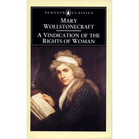 a discussion on two passages from a vindication of the rights of woman