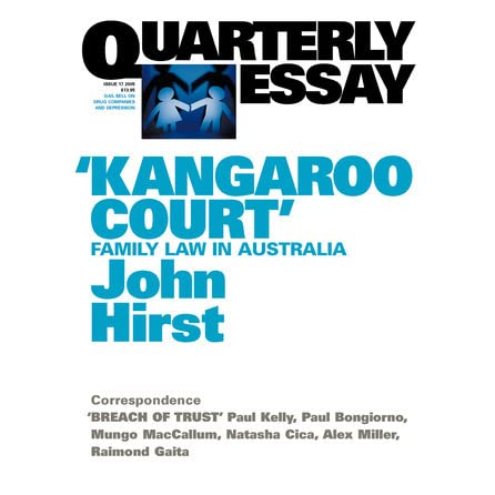 kangaroo court family law in by john hirst kangaroo court family law in by john hirst