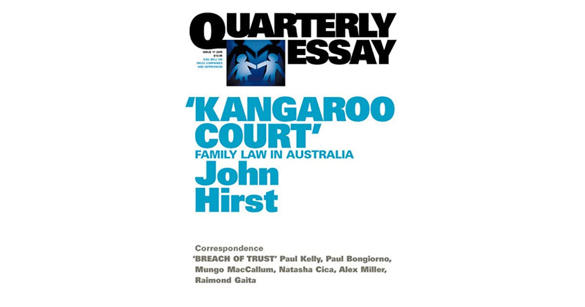 quarterly essay black inc This visionary essay considers the shape of the world to come and the implications for australia as it black inc, aug 30, 2010 - in the third quarterly essay.