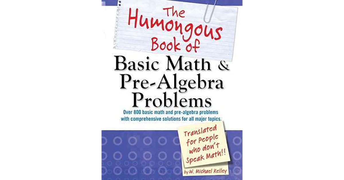 pre algebra math problems Pre-algebra worksheets include the topics suitable for middle school children each topic includes plenty of printable handouts for practice.