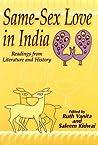 Same-Sex Love in India by Ruth Vanita