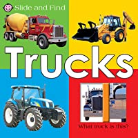 Large Slide and Find Trucks: Large Slide and Find Trucks