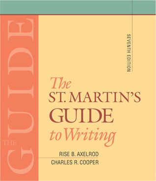 the concise st martins guide to writing 8th edition pdf