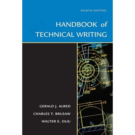 Handbook of technical writing by gerald j alred fandeluxe Image collections