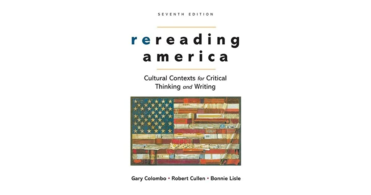 Table of Contents for: Rereading America : cultural contexts fo