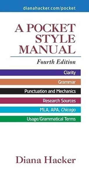 Manualguide A Pocket Style Manual 6e