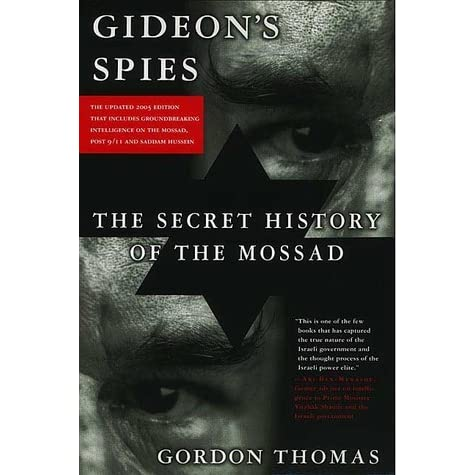 Pdf gideons spies the of the mossad secret history