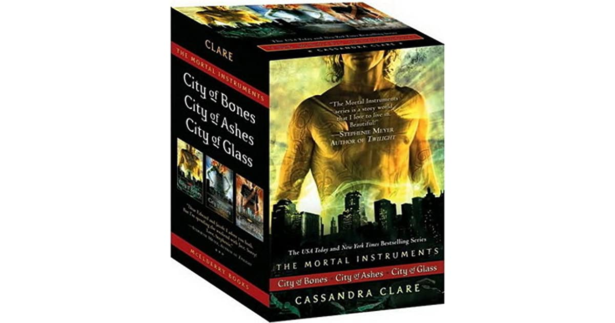 city of bones book series