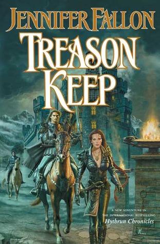 Treason Keep (The Hythrun Chronicles: Demon Child Trilogy, Book 2)