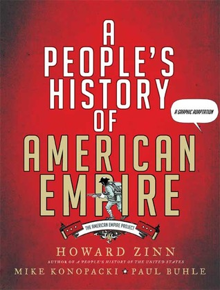 Cover for A People's History of American Empire, by Howard Zinn
