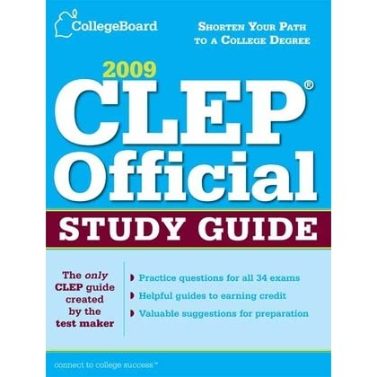 CLEP Official Study Guide by College Entrance Examination Board