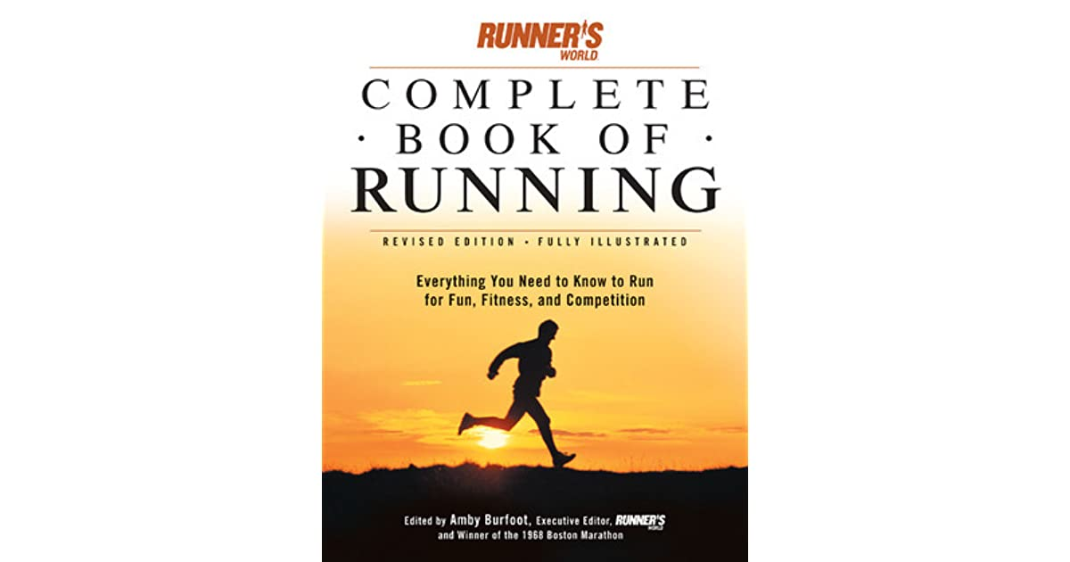 running the of complete book