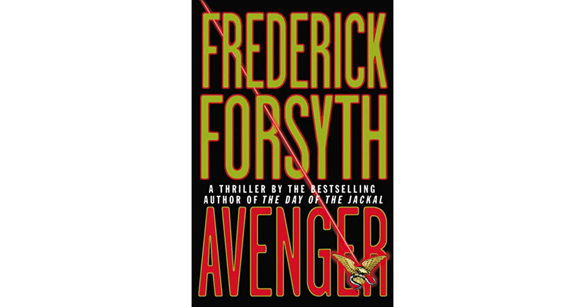 Avenger by frederick forsyth fandeluxe Choice Image