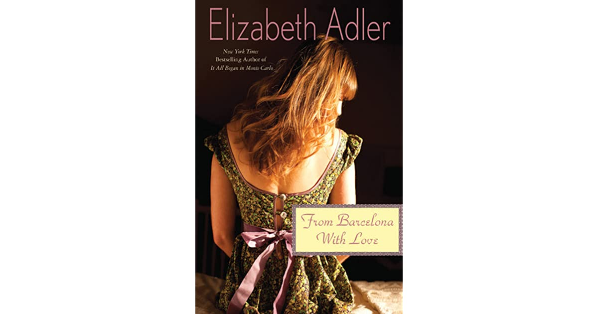 from barcelona with love adler elizabeth