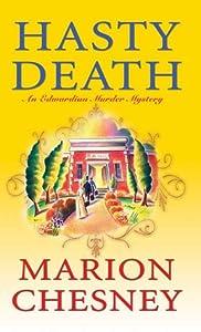 Hasty Death (Edwardian Murder Mysteries, #2)
