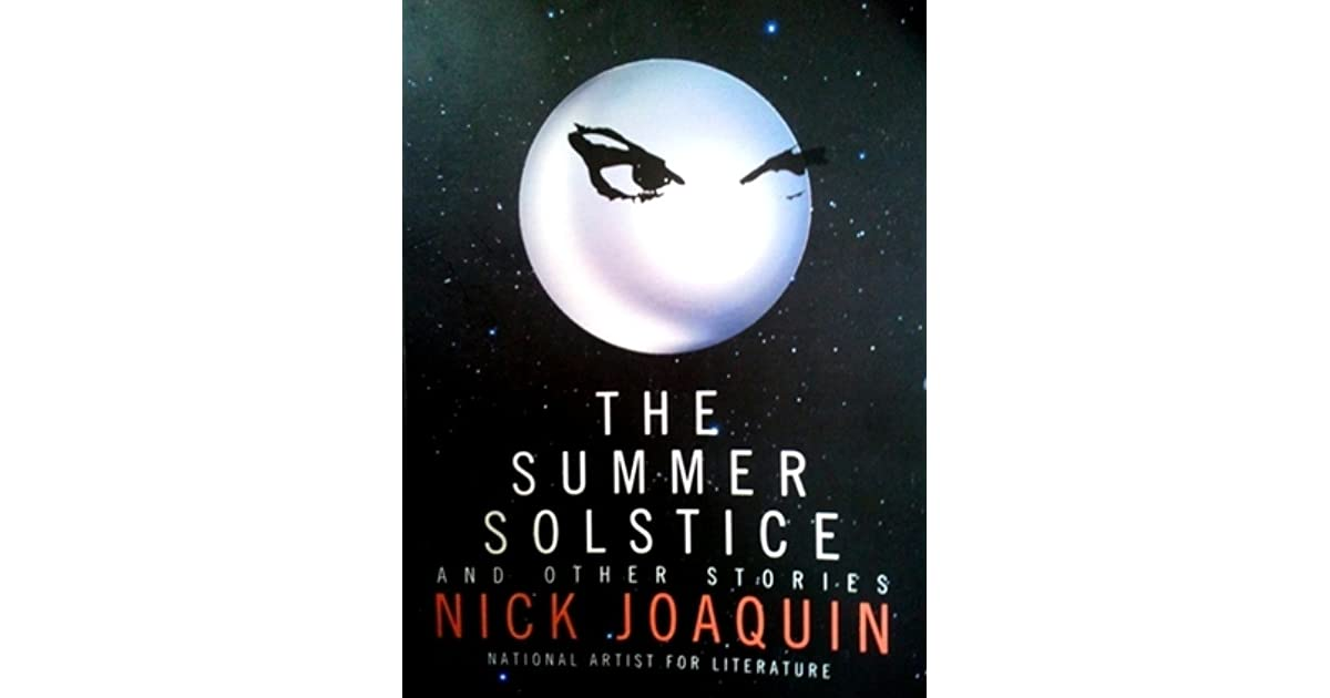 the settings of the story summer solestice by nick joaquin