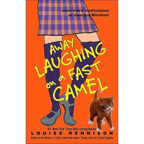 Image result for away laughing on a fast camel