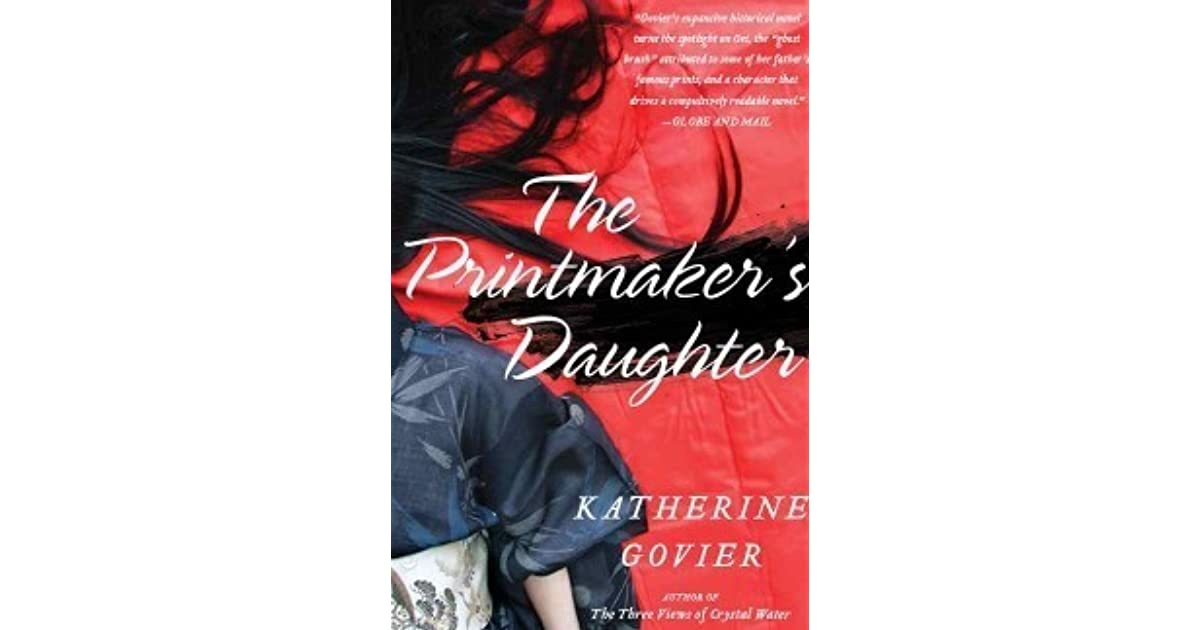 The printmakers daughter by katherine govier fandeluxe Images