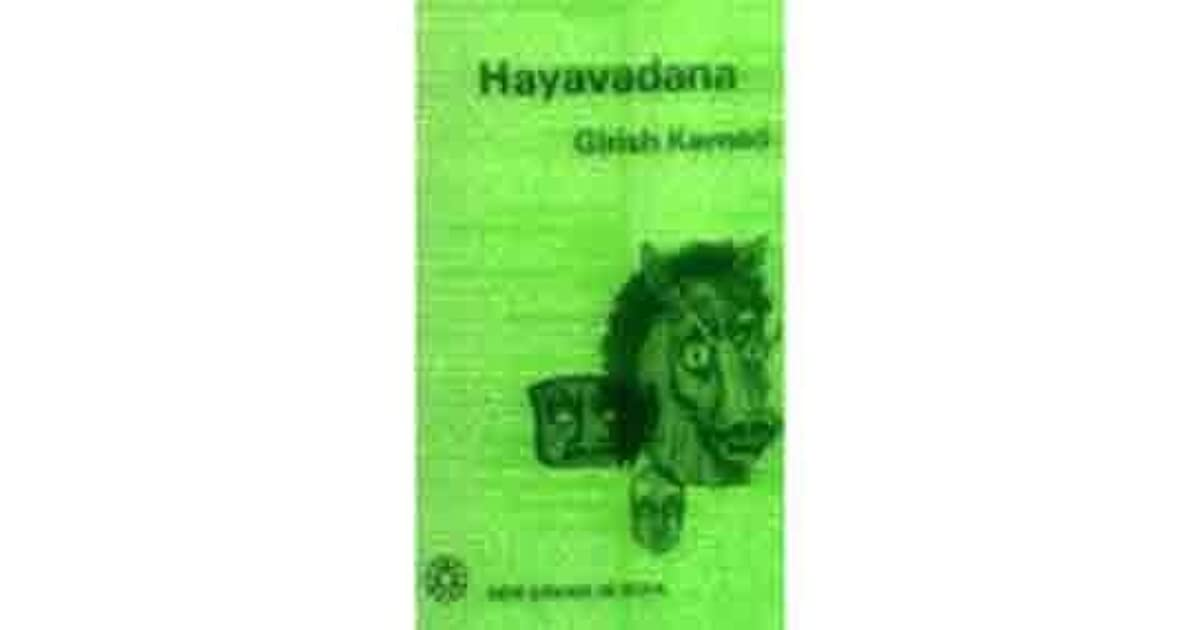 Girish Karnad Hayavadana Ebook Download