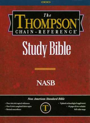 The Thompson Chain-Reference Bible-NASB