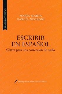 Escribir en español: claves para una corrección de estilo