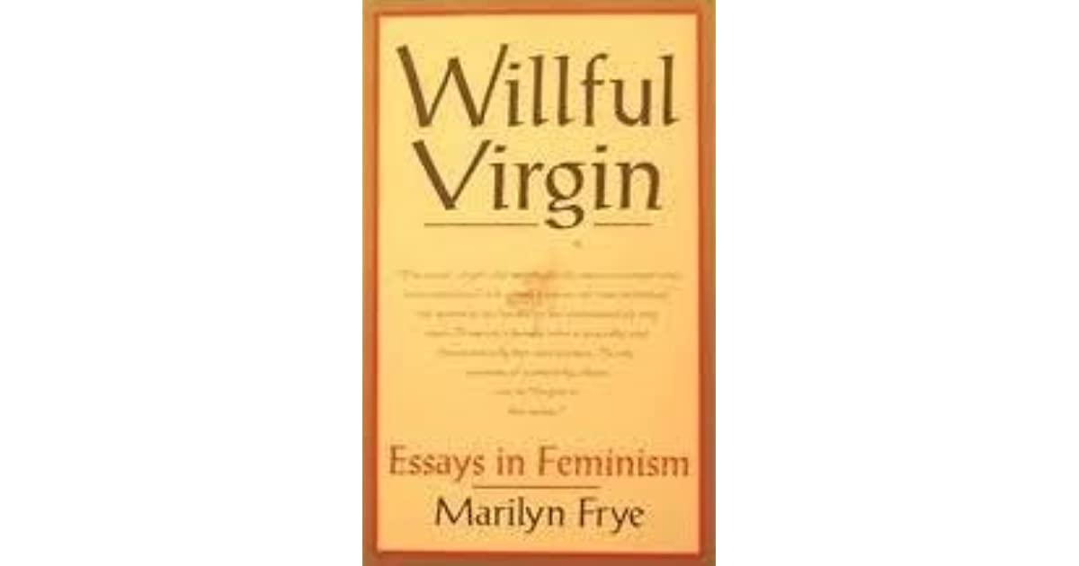 essay on feminism in literature But in her essay professions for women feminism and literature/feminist literary criticism.
