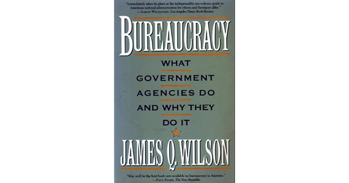 Bureaucracy What Government Agencies Do And Why They Do It