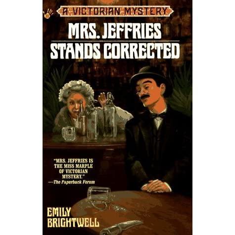 Mrs Jeffries Stands Corrected Mrs Jeffries 9 By Emily Brightwell