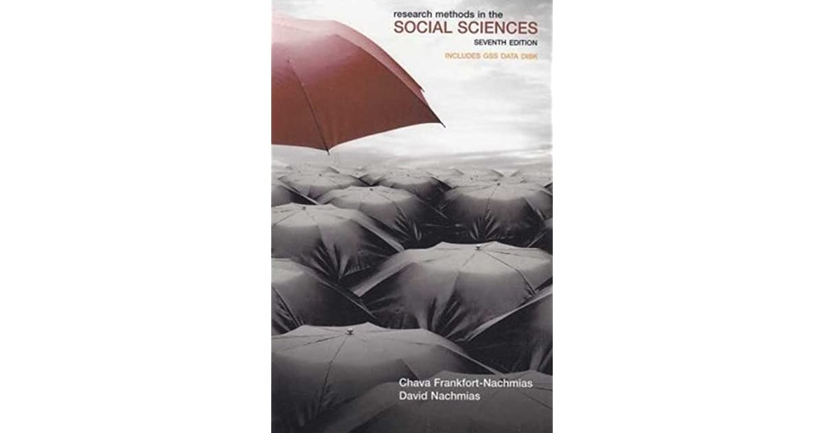 research methods in the social sciences nachmias pdf