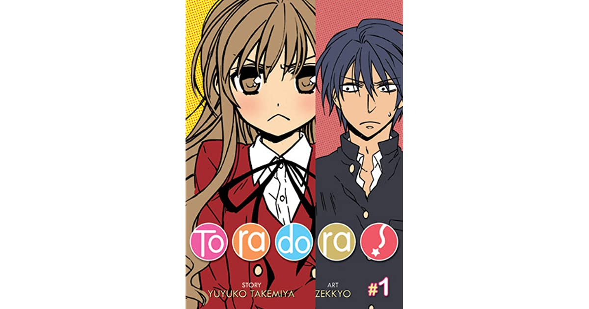 Toradora Manga Vol 1 By Yuyuko Takemiya