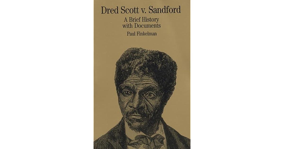 account of the dred scott v sanford case