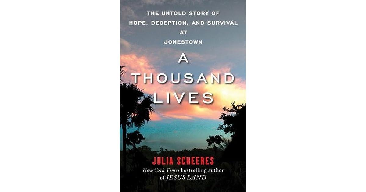 a thousand lives the untold story of jonestown pdf