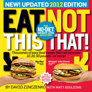 Book cover Eat This, Not That 2012 The No