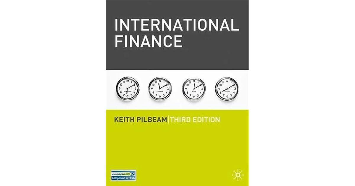 Pdf pilbeam international finance