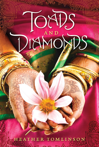 "Book cover of ""Toads & Diamonds"" by Heather Tomlinson"