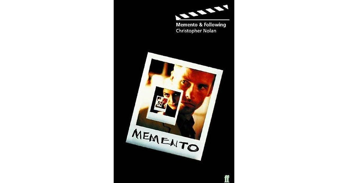 Memento & Following by Christopher J  Nolan
