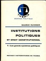 Institutions Politiques Et Droit Constitutionnel 1