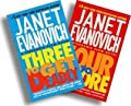 Janet Evanovich Three and Four Two-Book Set