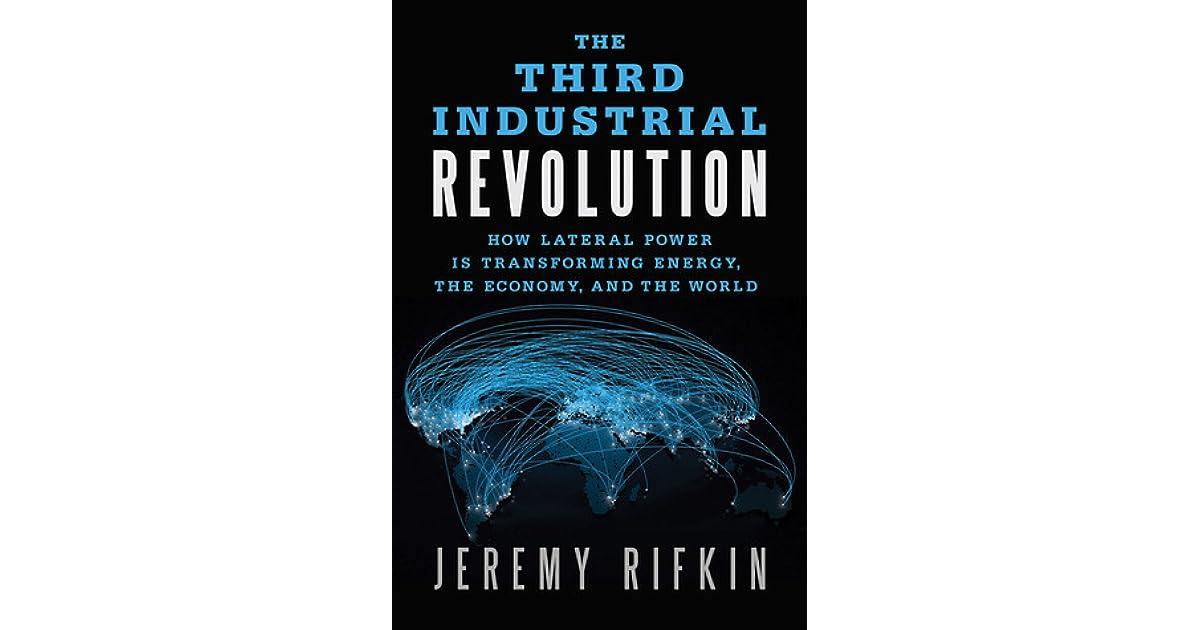 the third industrial revolution rifkin jeremy